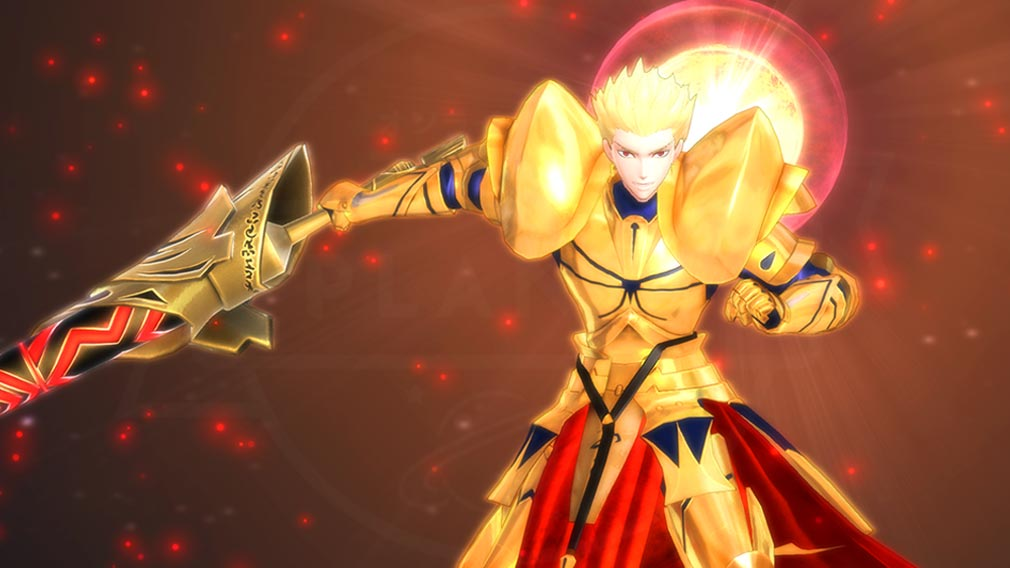 Fate/EXTELLA(フェイトエクストラ) キャラクター『ギルガメッシュ』の宝具発動スクリーンショット