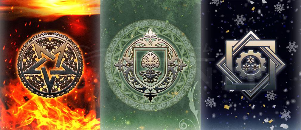 トリニティファンタジー(Trinity Fantasy)トリファン 『魔人族』『女神族』『人間族』紹介イメージ