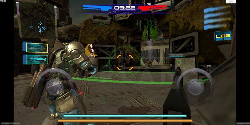 タイタンウォーズ(Titan Wars) 自陣営のメインタワースクリーンショット