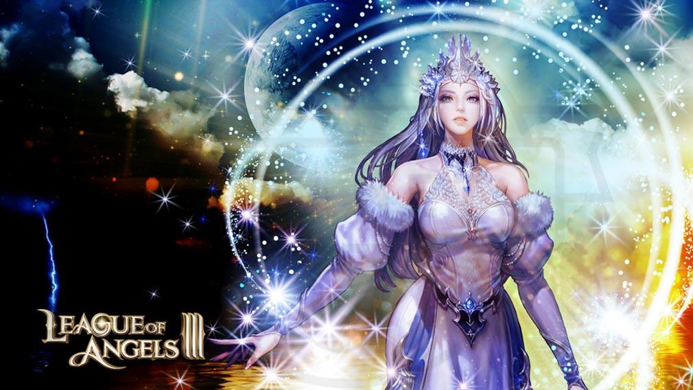 League of Angels3 リーグ オブ エンジェルズ3(LoA3) 氷の女神『イゾルデ』紹介イメージ