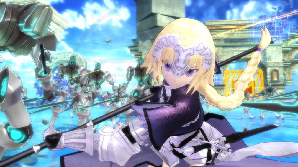 Fate/EXTELLA(フェイトエクストラ) キャラクター『ジャンヌ・ダルク』スクリーンショット