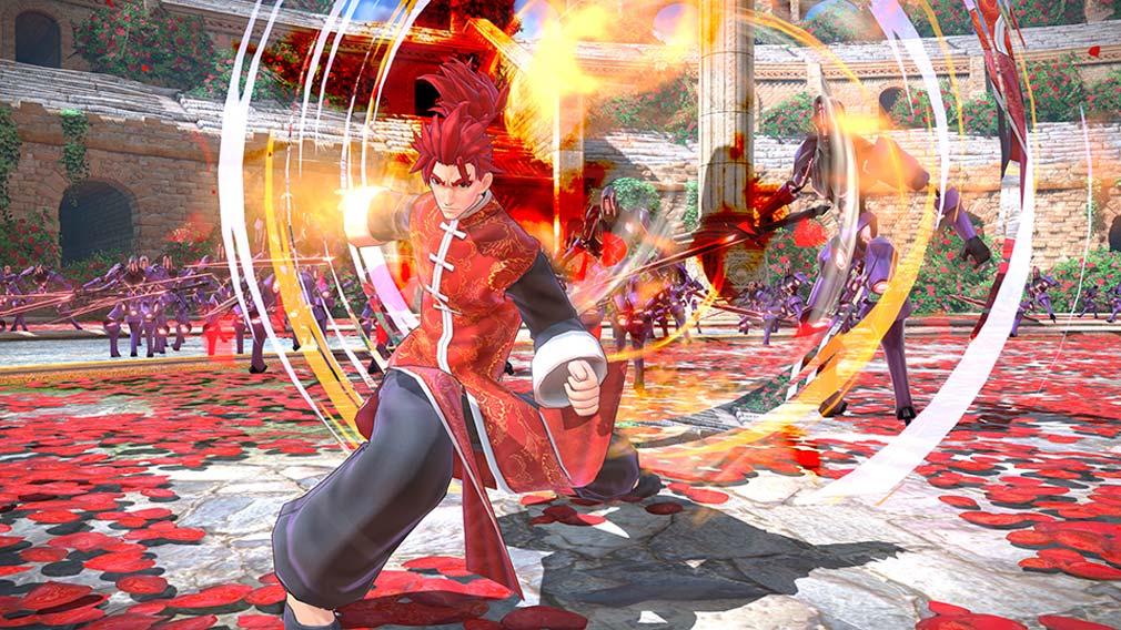 Fate/EXTELLA(フェイトエクストラ) サーヴァント『李書文』スクリーンショット