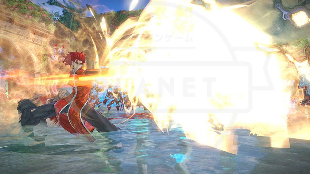 Fate/EXTELLA(フェイトエクストラ) サーヴァント『李書文』バトルスクリーンショット