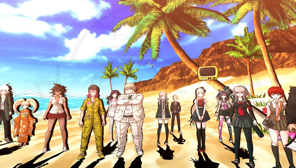 スーパーダンガンロンパ2 さよなら絶望学園 Anniversary Edition 南の島『ジャバウォック島』に訪れた希望ケ峰高校の生徒達スクリーンショット