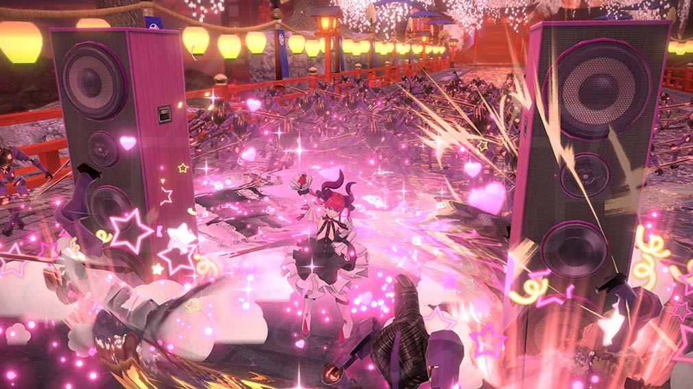 Fate/EXTELLA(フェイトエクストラ) サーヴァント『エリザベート=バートリー』バトルスクリーンショット