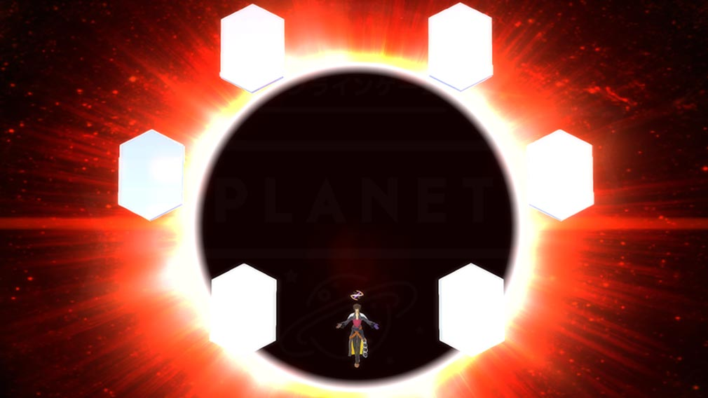 Fate/EXTELLA(フェイトエクストラ) キャラクター『アルキメデス』の宝具発動スクリーンショット