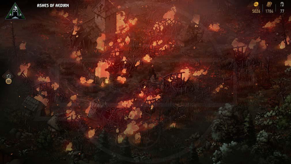 奪われし玉座:ウィッチャーテイルズ 『エディルン』スクリーンショット