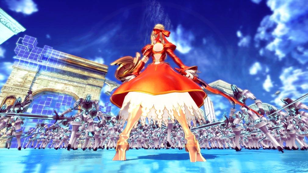 Fate/EXTELLA(フェイトエクストラ) 物語スクリーンショット