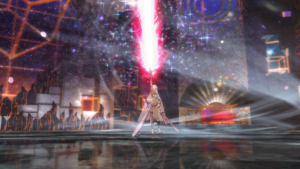 Fate/EXTELLA(フェイトエクストラ) 月の世界を破壊しようとする『アルテラ』スクリーンショット