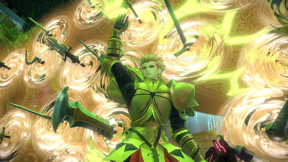 Fate/EXTELLA(フェイトエクストラ) サーヴァント『ギルガメッシュ』スクリーンショット