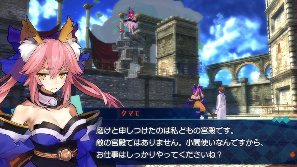 Fate/EXTELLA(フェイトエクストラ) 『玉藻の前陣営』スクリーンショット
