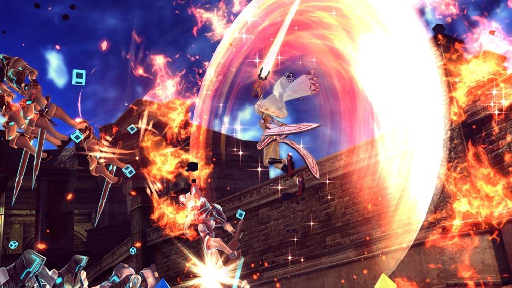 Fate/EXTELLA(フェイトエクストラ) ハイスピードサーヴァントアクションスクリーンショット