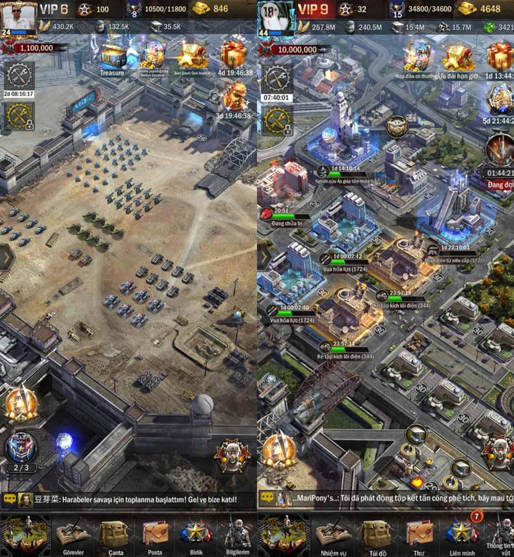 Age of Z(エイジ オブ ゼット)AOZ 軍備増強、都市建設スクリーンショット