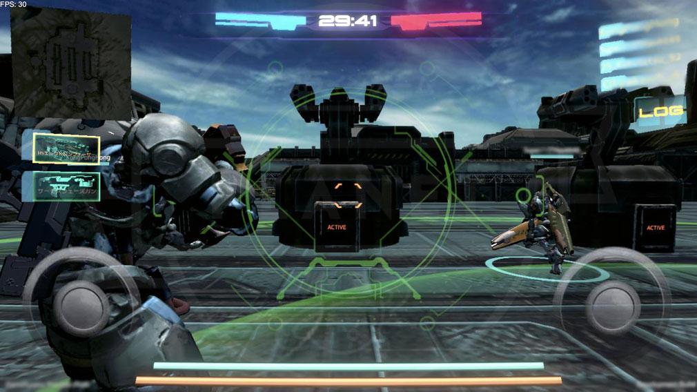 タイタンウォーズ(Titan Wars) 『デスマッチモード』スクリーンショット
