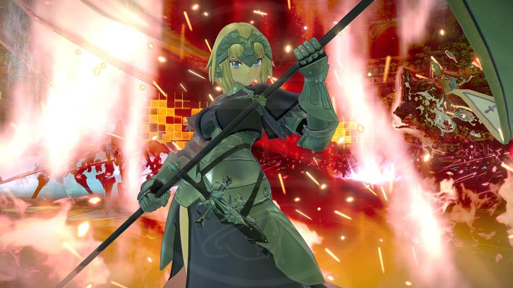 Fate/EXTELLA(フェイトエクストラ) サーヴァント『ジャンヌ・ダルク』スクリーンショット