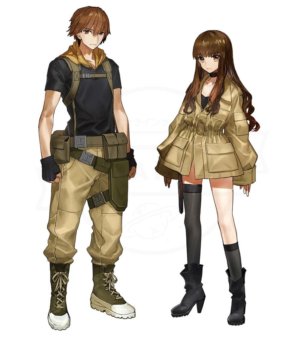 Fate/EXTELLA LINK(フェイト/エクストラ リンク) 『マスター』男女イラスト紹介イメージ