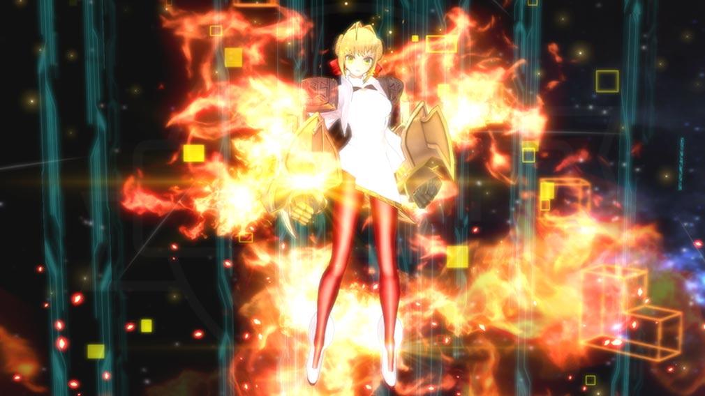 Fate/EXTELLA(フェイトエクストラ) 形態変化前『ネロ』スクリーンショット
