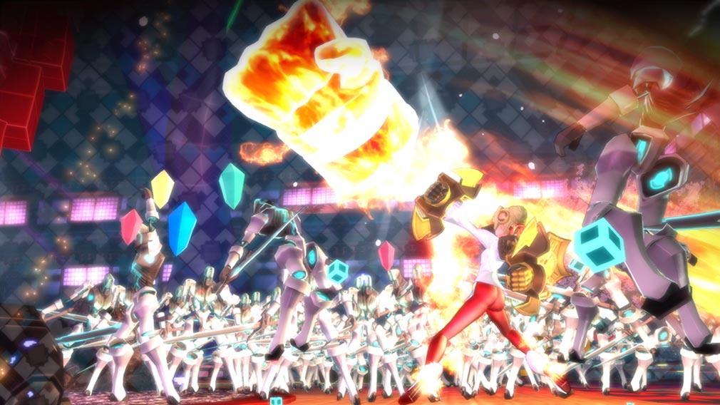 Fate/EXTELLA(フェイトエクストラ) 形態変化後『ネロ』スクリーンショット
