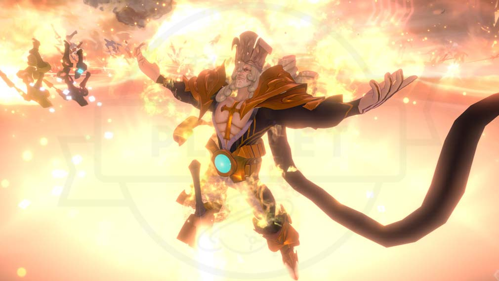 Fate/EXTELLA LINK(フェイト/エクストラ リンク) 『Fate』シリーズ初登場のサーヴァント『カール大帝』スクリーンショット