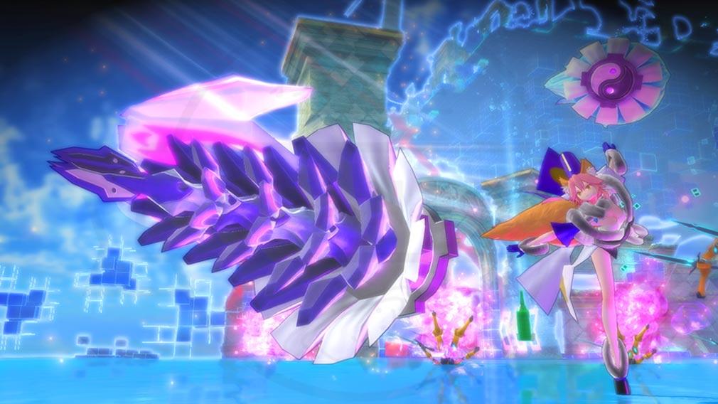 Fate/EXTELLA(フェイトエクストラ) 形態変化後『玉藻の前』スクリーンショット
