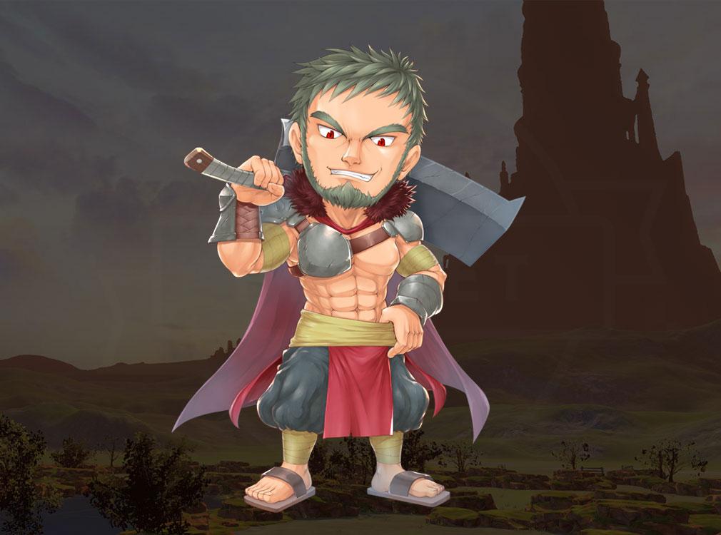 トリニティファンタジー(Trinity Fantasy)トリファン キャラクター『ジロマル』紹介イメージ