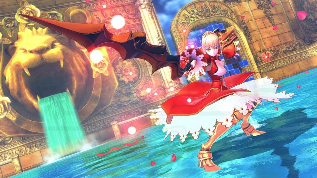 Fate/EXTELLA(フェイトエクストラ) キャラクター『ネロ・クラウディウス』スクリーンショット