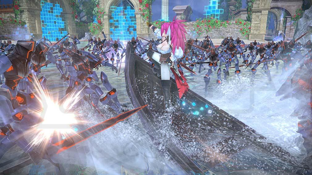 Fate/EXTELLA(フェイトエクストラ) サーヴァント『フランシス・ドレイク』バトルスクリーンショット