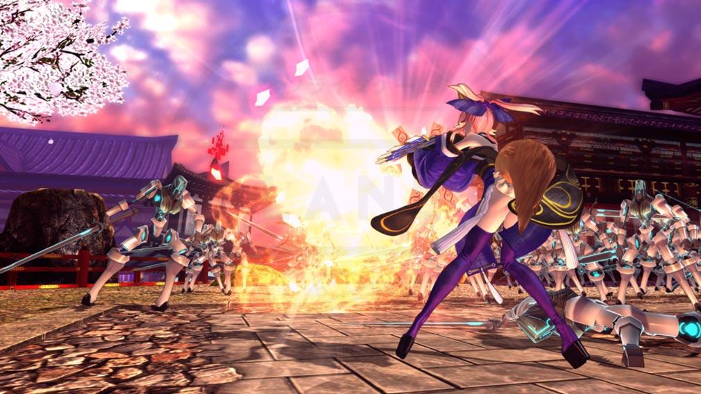 Fate/EXTELLA(フェイトエクストラ) バトル・アクションスクリーンショット