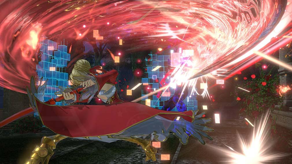 Fate/EXTELLA LINK(フェイト/エクストラ リンク) ハイスピードサーヴァントバトルスクリーンショット