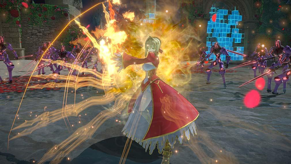 Fate/EXTELLA LINK(フェイト/エクストラ リンク) 様々なアクションスクリーンショット