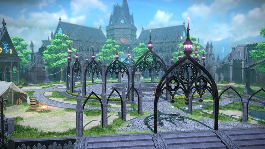 Fate/EXTELLA LINK(フェイト/エクストラ リンク) 戦いの拠点『ベースキャンプ』スクリーンショット