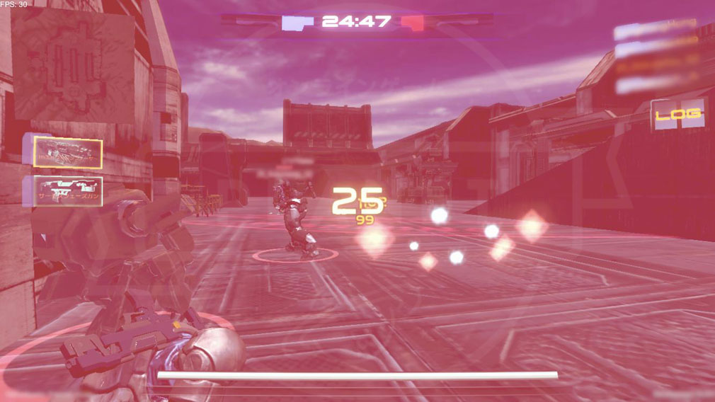 タイタンウォーズ(Titan Wars) 『デスマッチモード』アクション演出スクリーンショット