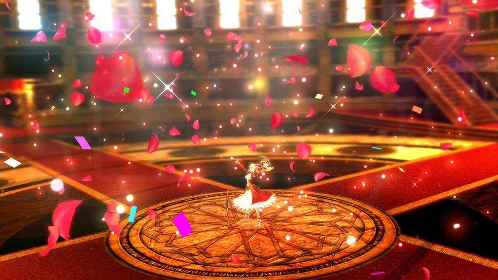 Fate/EXTELLA(フェイトエクストラ) キャラクター『ネロ・クラウディウス』の宝具発動スクリーンショット