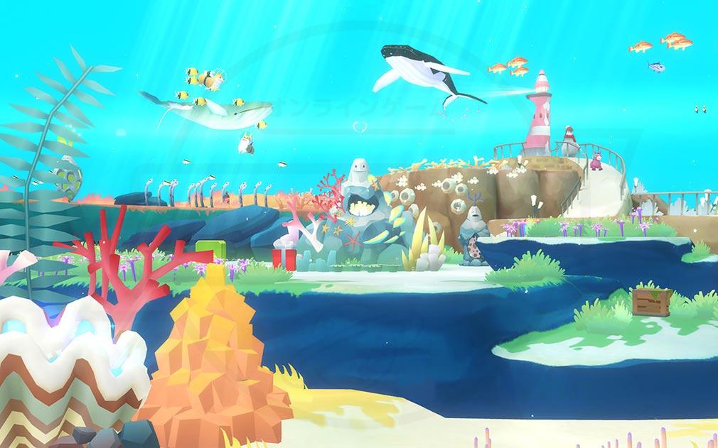 アビスリウムワールド 多彩なデコレーションが楽しめるスクリーンショット