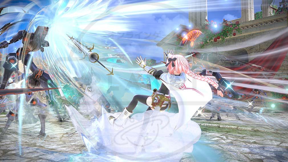 Fate/EXTELLA(フェイトエクストラ) サーヴァント『アストルフォ』バトルスクリーンショット