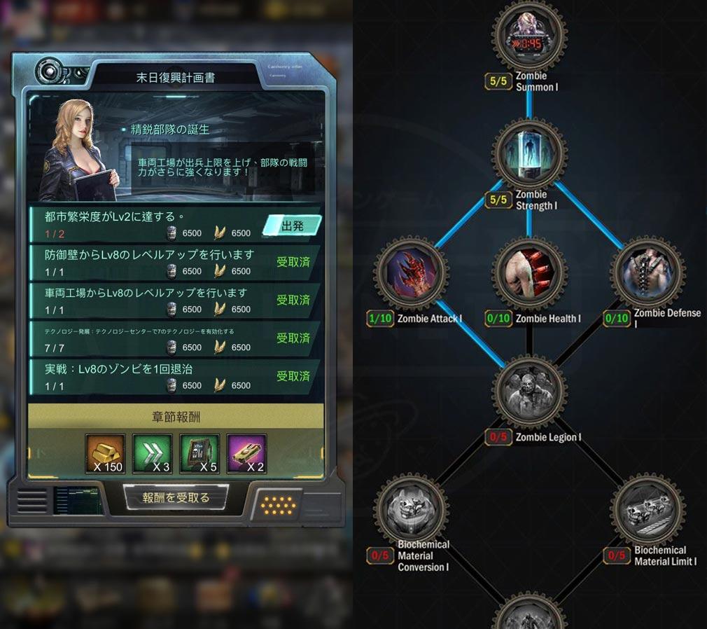 Age of Z(エイジ オブ ゼット)AOZ ミッション、ワークショップスクリーンショット
