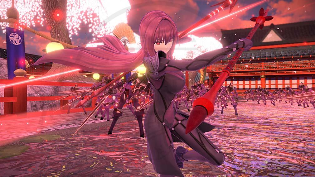 Fate/EXTELLA(フェイトエクストラ) サーヴァント『スカサハ』スクリーンショット