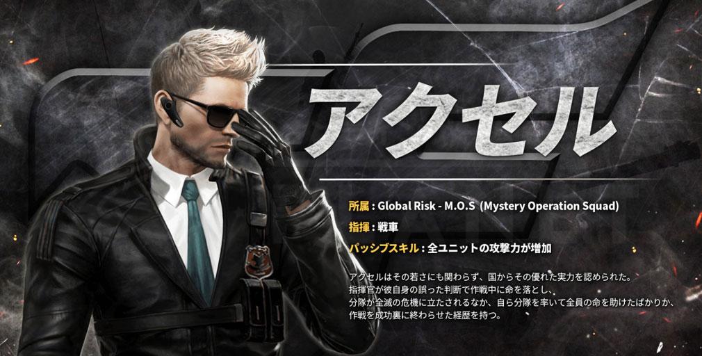 CrossFire Warzone (クロスファイア ウォーゾーン) キャラクター『アクセル』紹介イメージ