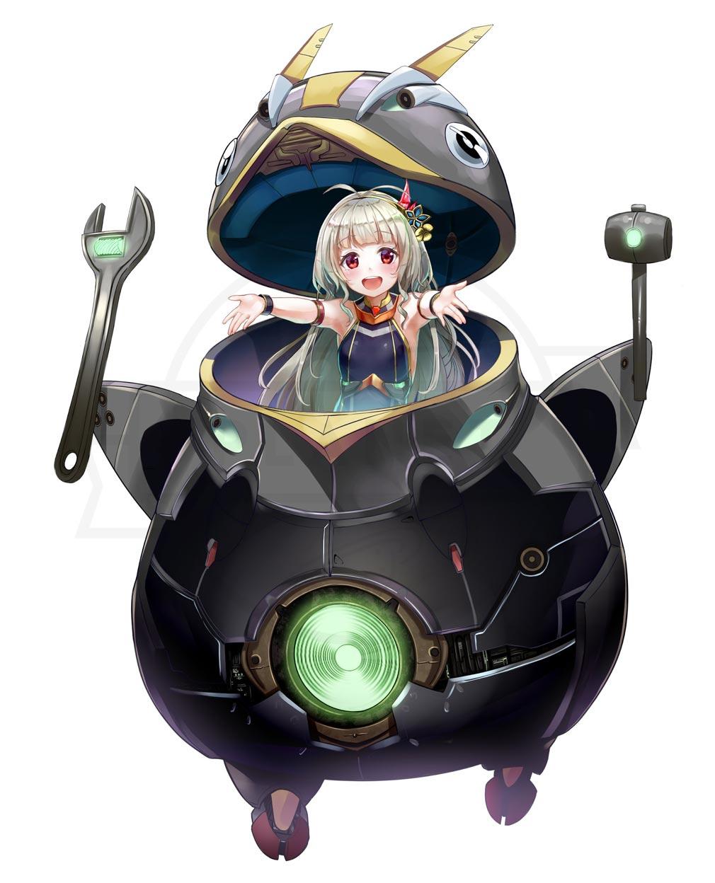 星間パイオニア Cyber Adventure キャラクター『キキ』紹介イメージ