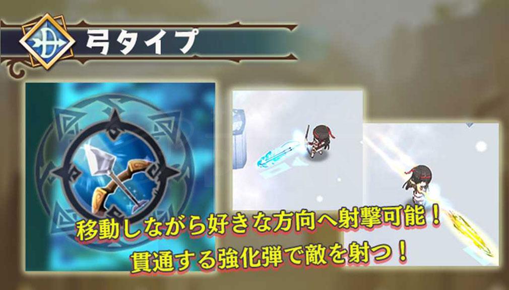 少女キャリバー.io(じょりばー) 『弓タイプ』紹介イメージ