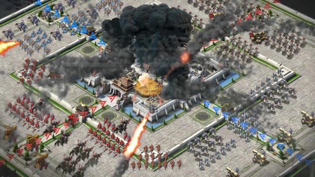 龍の覇業 三国英雄伝 『城攻戦』スクリーンショット