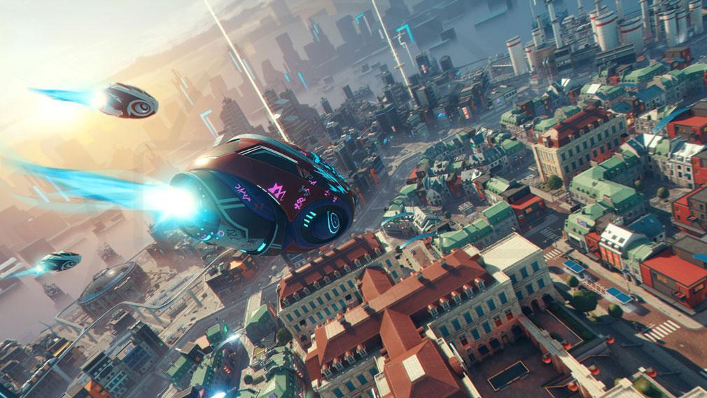 ハイパースケープ(Hyper Scape) 仮想都市『ネオ・エルカディア』スクリーンショット