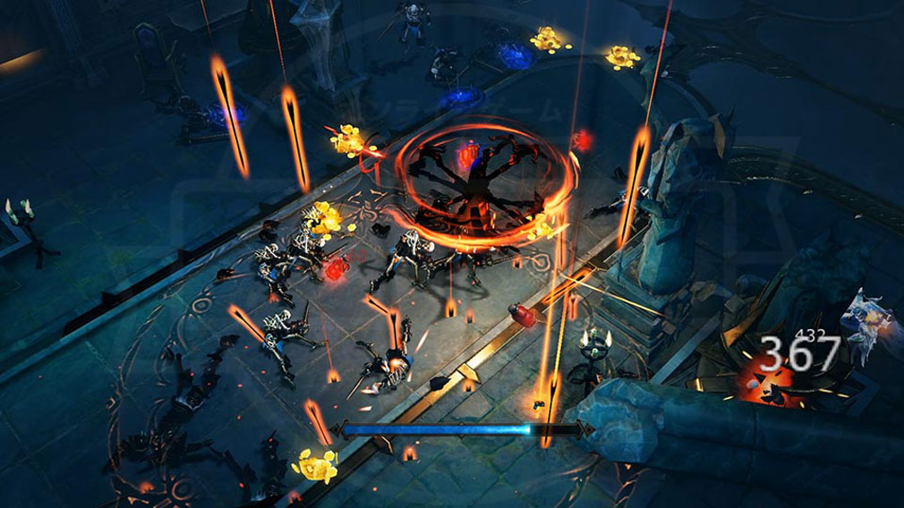 ディアブロ イモータル(Diablo Immortal) ダンジョンバトルスクリーンショット