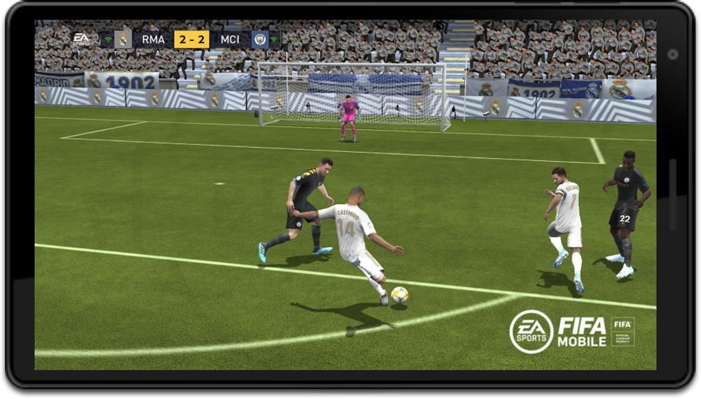 EA SPORTS FIFA MOBILE 『UEFAチャンピオンズリーグ』紹介イメージ