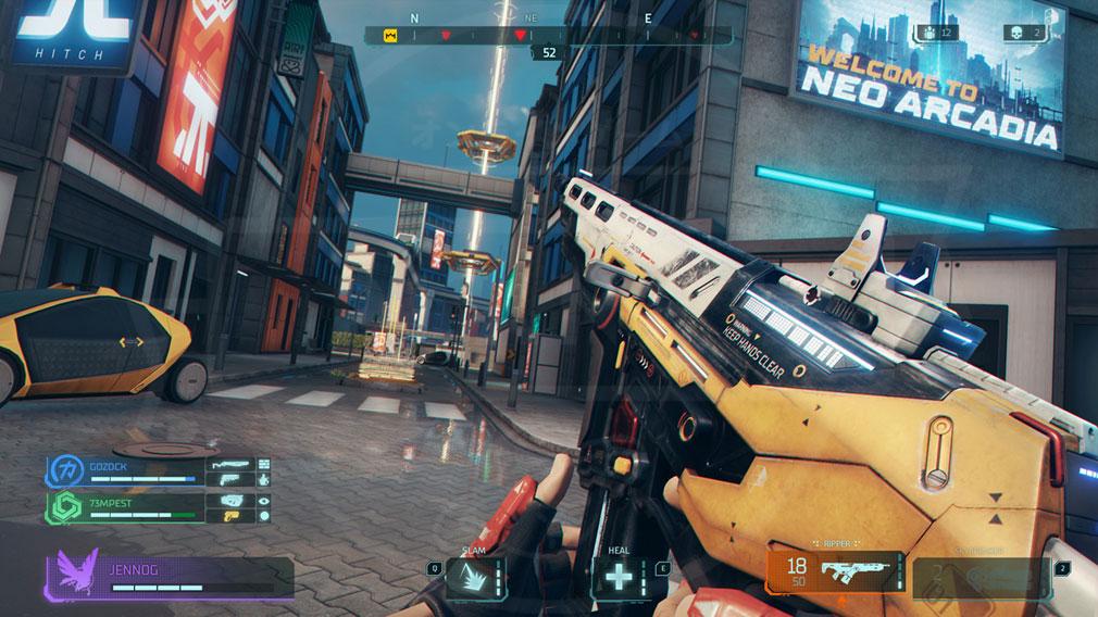 ハイパースケープ(Hyper Scape) 武器とハックスクリーンショット