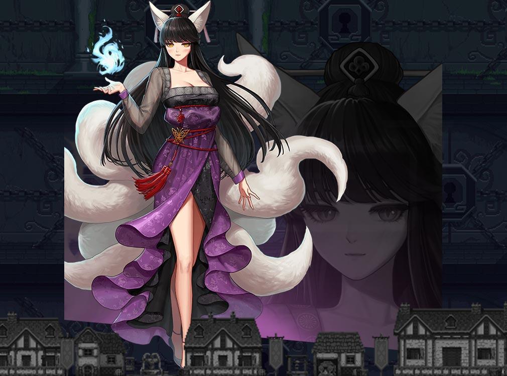 ヘキサゴンダンジョン:アルカナの石 キャラクター『ソユル』紹介イメージ