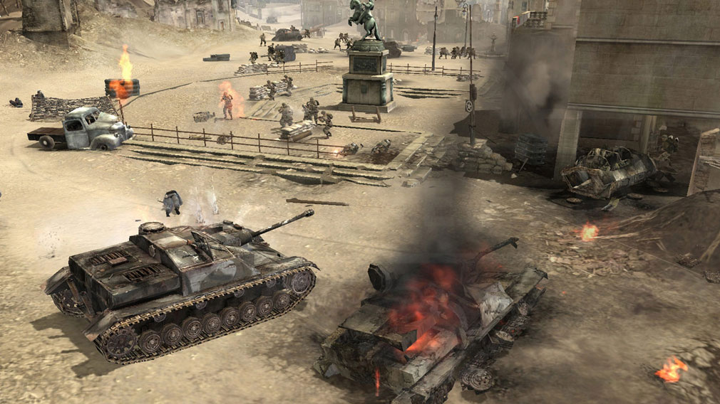 Company of Heroes(カンパニー オブ ヒーローズ) 戦車プレイスクリーンショット