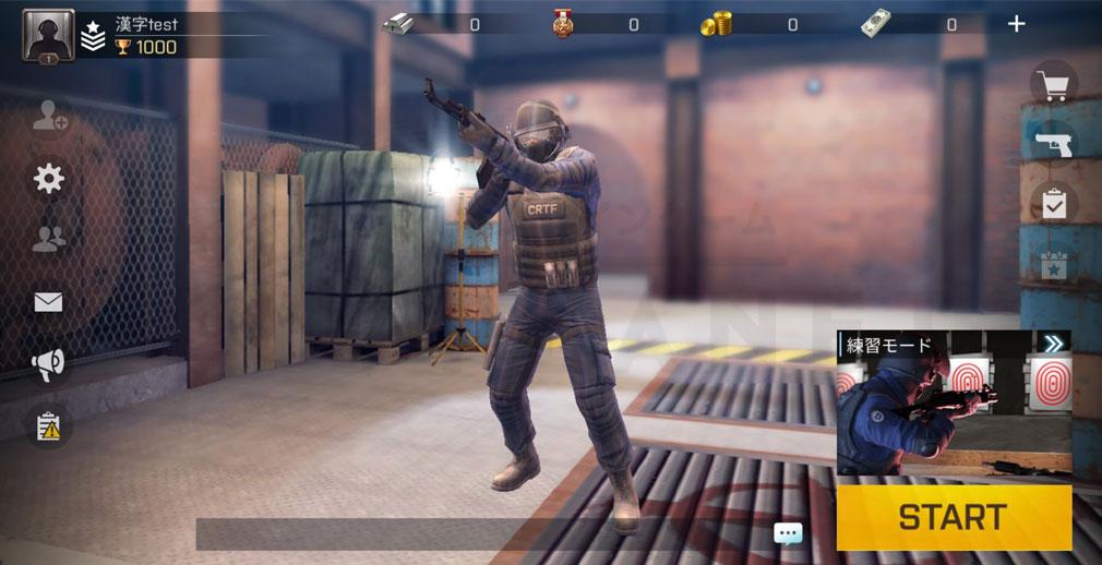Critical Ops Reloaded(クリティカルオプス リローデッド) ホーム画面スクリーンショット