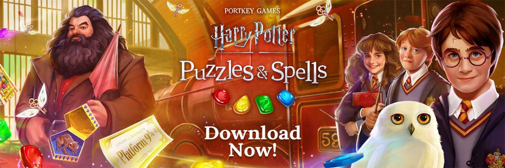 ハリー・ポッター 呪文と魔法のパズル フッターイメージ