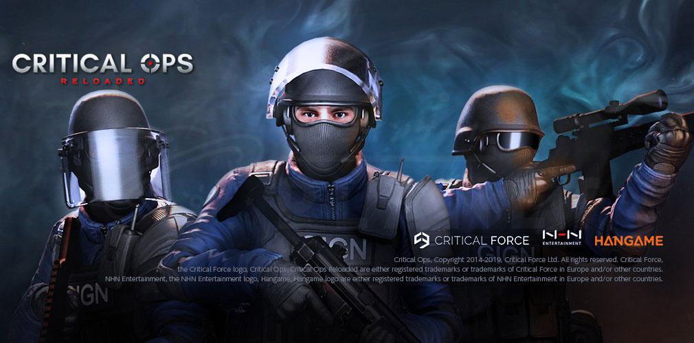 Critical Ops Reloaded(クリティカルオプス リローデッド) フッターイメージ